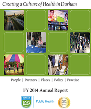 DCoDPH Annual Report FY 2014 Cover