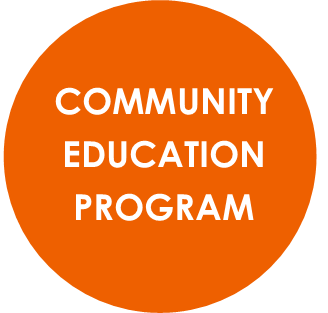 Community Education program button