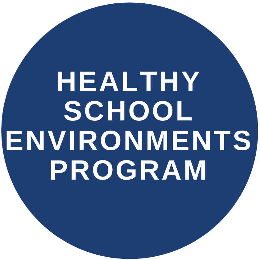 Healthy school environments program button