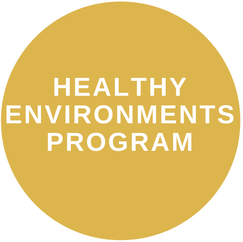 Healthy environments program button